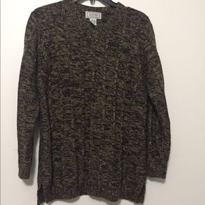 Jennifer Moore cable knit sweater